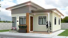 Small Modern House Exterior, Modern Small House Design, Small House Exteriors, Small House Interior Design, Small Apartment Design, Small Modern Home, One Storey House, 2 Storey House Design, Duplex House Design