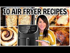 10 EASY Air Fryer Recipes - THIS is What to Make in Your Air Fryer - Cosori & Philips XXL - YouTube