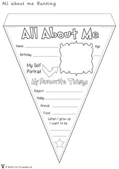 Imagine a string of these around your classroom in September! If you still have some time left in school, they'd make a great transition/move up day activity too. They'd also work well for your 'Ou...