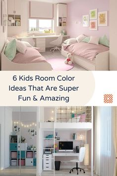 Give your kids the room of their dreams, follow these color scheme ideas and interior decor tips for kid's bedrooms, and choose the best color palette for your kids.