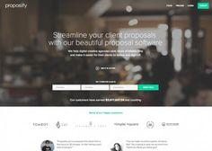 Proposify Website