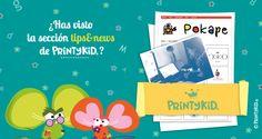 """Printykid Presenta su nueva sección """"Prints&News"""" de la mano de Silvina de Pokape pk  Emociónate! http://printykid.com/es/content/13-tipsnews"""