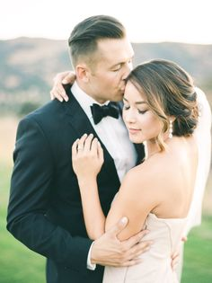 This California wedding is overflowing with romance and the prettiest blush and marsala florals we've ever seen!