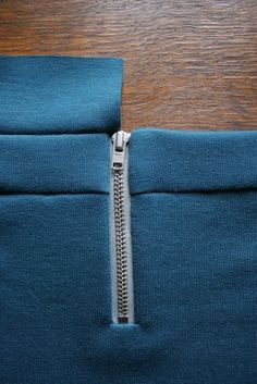 How to Install an Exposed Zipper