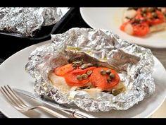 Filetes de pescado empapelado