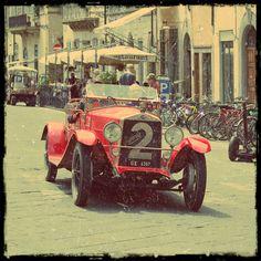 1000 Miglia, Florence, Piazza Pitti