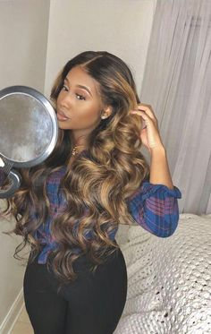 Curly wigs lace frontal wigs 28 inch curly wig how to use the best amla oil for hair growth and thickness Cheap Human Hair, Human Hair Wigs, Curly Hair Styles, Natural Hair Styles, Hair Styles Weave, Weave Hair Color, Hair Laid, Curly Wigs, Curly Hair Sew In
