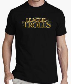 Camiseta League of Trolls nº Eres el mayor troll de League of trolls? Custom Tee Shirts, Printed Shirts, Airsoft, Hulk, Retro Gamer, Quality T Shirts, Manga, Going Crazy, Sweater Shirt