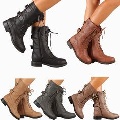 Maravillosas botas y botines de moda   Colección Otoño - Invierno