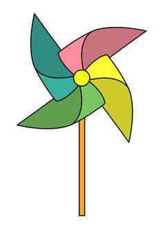 Pinwheel tattoo sticker by Bijan Gorospe by tattoosticker on Etsy