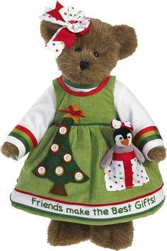 """Boyd's """"Carol Lee Goodfriend with Freezie"""" My Teddy Bear, Cute Teddy Bears, Country Bears, Christmas Teddy Bear, Merry Christmas, Bear Wallpaper, Boyds Bears, Theme Noel, Love Bear"""