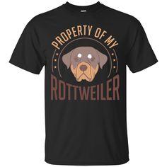 Dog Rottweiler Property Of Rottweiler T-shirts Hoodies Sweatshirts