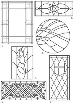 Would love to do the Celtic one...Abstract Stained Glass Pattern - Bing Images