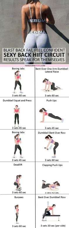 #womensworkout #workout #femalefitness Repin and share if this workout gave you a sexy toned back! Click the pin for the full workout.
