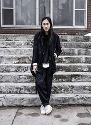 Shui Tsang - Paul Harnden Wool Melton, Raf Simons Cotton, Uniqlo Cotton, Carpe Diem .925, Carpe Diem Cotton Canvas, Ma+ .925, Ma+ .925/Calf, Yohji Yamamoto Wool Gab, Nike Af1 - 131214