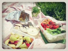 Summer picnic of vegan-y treats