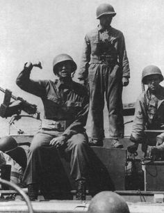 General Mark Clark during operation Avalanche, Italy 1943, pin by Paolo Marzioli