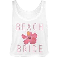 Trendy Beach Bride | Customize trendy beach bride designs for honeymoons!