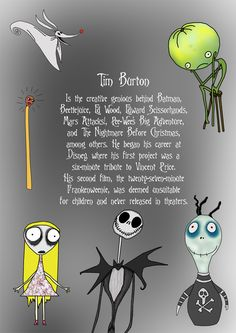 tim burton- well it actually was released eventually