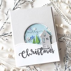 Love this card by Shari Carroll for the Paper Crafters Library using Simon Says…