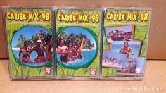 CARIBE MIX 98. LOS 33 ROMPECINTURAS MAS BAILADOS. 3 MC / MAX MUSIC - 1998 / LUJO.