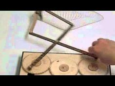 The Primograf is a hand cranked drawing machine. It is a visual investigation of the harmonics between gears with prime numbers of teeth. School Art Projects, Science Projects, Projects To Try, Paper Toys, Paper Crafts, Mathematics Geometry, Drawing Machine, Funny Cat Photos, Little Bit