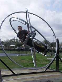 Human Gyroscopes... the thing nightmares are made of... NERP!