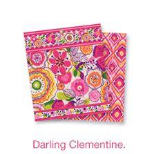 Vera Bradley new pattern Darling Clementine