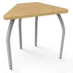 WB Manufacturing Elo Laminate Adjustable Height Standard Desk