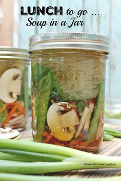Soup-in-a-Jar-#Recipe Perfect Lunch to go and many creations #NewBeneful #ad