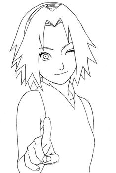 Marvelous Learn To Draw Manga Ideas. Exquisite Learn To Draw Manga Ideas. Naruto Drawings Easy, Naruto Sketch Drawing, Anime Drawings Sketches, Anime Sketch, Manga Drawing, Easy Drawings, Pencil Drawings, Anime Naruto, Anime Sakura