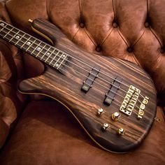"""Streamer Stage II left hand with 1"""" Macassar Ebony top, Swamp Ash back and natural oil finish #warwick #framus #warwickbass #framusguitar #bass #guitar #instrument #music #musician #sound #strings #wood #woodporn #play #player #color #colorful #amps #amplification #acoustic #acousticguitar"""