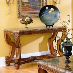 Tuscan Tuscany Old World Decor Iron Scroll Entry Hall
