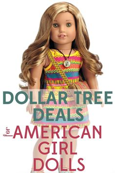Dollar Tree Deals for American Girl Dolls - - American Girl dolls cost a LOT, but accessories don't have to break the bank. Check out all these dollar tree deals for American Girl dolls. American Girl House, American Girl Outfits, American Girl Crafts, American Girl Stuff, American Girl Doll Hair Care, American Girl Storage, American Girl Birthday, American Girl Doll Games, Galaxy Slime