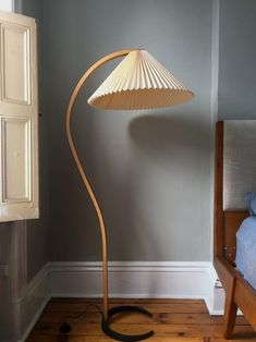 Investing in Furniture: My Mads Caprani Lamp Noguchi Lamp, Noguchi Coffee Table, Womb Chair, Wood Floor Lamp, I Love Lamp, Minimalist Room, Home Upgrades, Table Lamp, Flooring