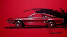 1962 mustang | Early Mustang Sketch | ford-mustang-1962-1964 | Albums photo