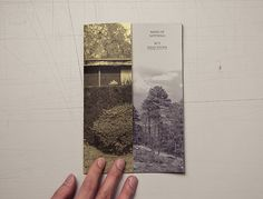 """This zine is a collection of """"man vs. nature"""" photographs taken by graphic designer, Huy Vu. Black and white laser printed and saddle-stitch bound in an open edition."""