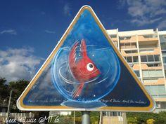 Street art in Pornichet, France