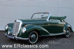 1952 Mercedes Benz 220 A Cabriolet as new