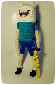 #AdventureTime Finn Adventure time Amigurumi (pin!)