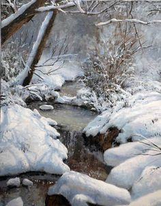 February Snow, by Michael Godfrey