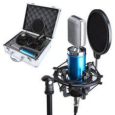 Amazoonレビューでは言えない!!: Crenova E-660 高音質コンサートマイク コンデンサーマイク スタジオ レコーディング ス...