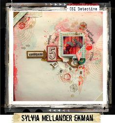 Case File No. 153 {Case closes on February 5, 2015} - CSI: Color, Stories, Inspiration, Sylvia Mellander Ekman