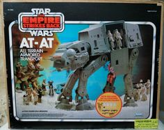 AT-AT Play set -  KENNER: 1981 Star Wars The Empire Strikes Back