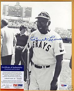 Buck Leonard autograph 8 x 10 photo psa/dna . $74.00. This is a autograph 8 x 10 photo. Signed inBluesharpie. Signed byHall of Famer. Buck Leonard. Photo isB on havey stock matte finish paper.Photo is authenticity byPSA/DNA. Comes with aPSA/DNA sticker on thephoto and aPSA/DNA basic certstating thephotois authentic. Please see scan.