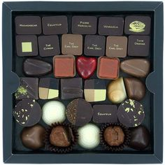 """""""A feast for the eyes and the mouth, one of the three layers of a chocolate box created by the Belgian chocolate manufacturer Pierre Marcolini."""""""