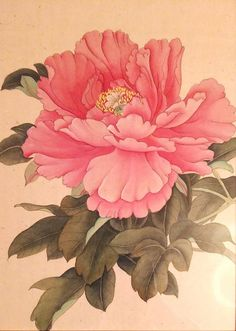 Pink peony от PomegranateArtMaria на Etsy