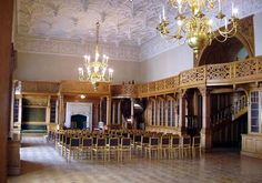HOME OF SERGEI AND ELLA  the Beloselsky-Belozersky Palace - Library ....  St. Petersburg