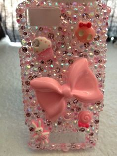 Bling Pink Droid X Phone Case by DesignsByHuuR on Etsy, $35.00