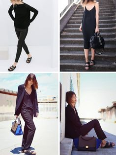 Style | Trending : Birkenstocks and criss-cross sandals - French By Design